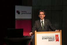 Dr. Eckhard Ruthemeyer, Bürgermeister der Stadt Soest
